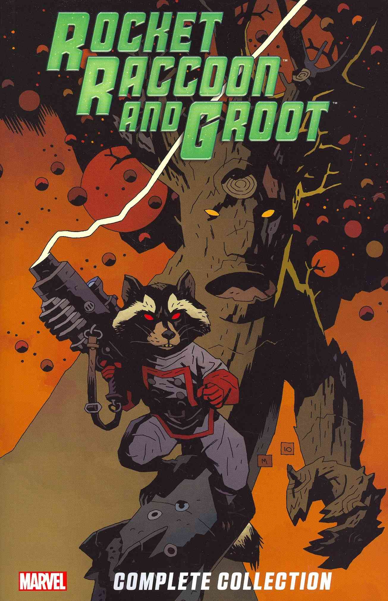 Rocket Raccoon & Groot Ultimate Collection By Mantlo, Bill/ Abnett, Dan/ Lanning, Andy/ Kirby, Jack (ILT)/ Buscema, Sal (ILT)